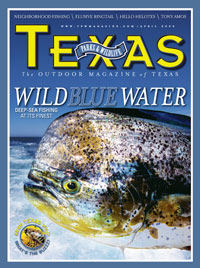 April 2009 cover image dorrado fish in the gulf