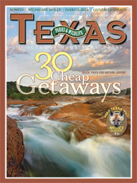 March 2009 cover image of Pedernales Falls State Park
