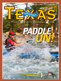 April 2011 cover image Paddle On!