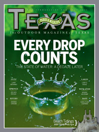 July 2011 cover image Every Drop Counts