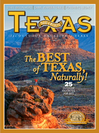 March 2011 cover image The Best of Texas, Naturally!