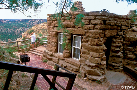 Ccc built iconic structures in state parks tpw magazine for Cabins near palo duro canyon state park