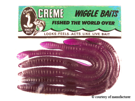 legend, lore & legacy: plastic worm inventor changed bass fishing, Soft Baits