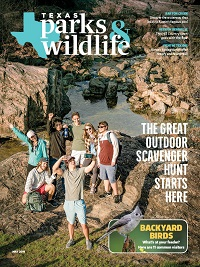 May 2019 Texas Parks & Wildlife Magazine cover