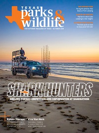 October 2019 Texas Parks & Wildlife Magazine cover