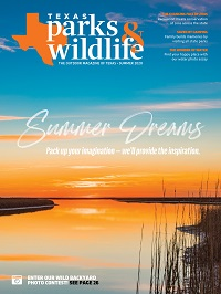 Texas Parks & Wildlife Magazine June 2020 cover