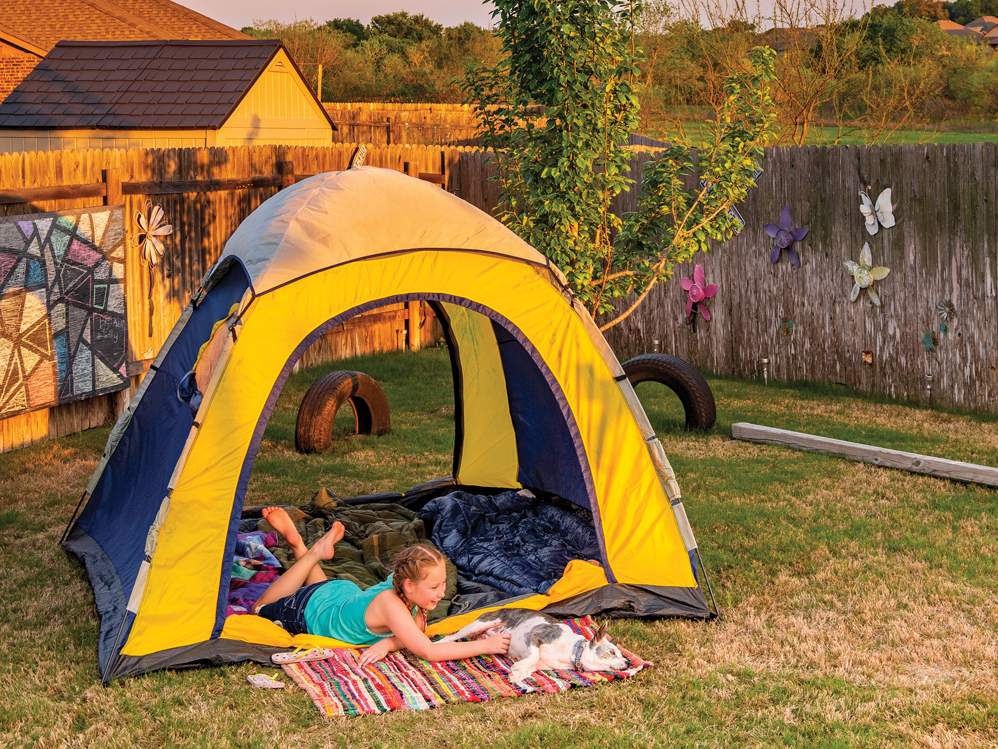 Camping in Your Own Backyard|May 2020| TPW magazine