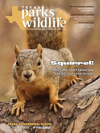 Texas Parks & Wildlife Magazine October 2020 cover